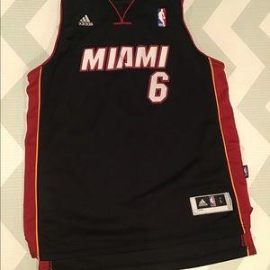 LeBron James Miami jersey